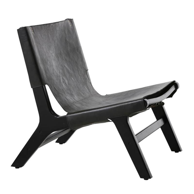 Billede af Amsterdam Lounge stol i Bøffel læder
